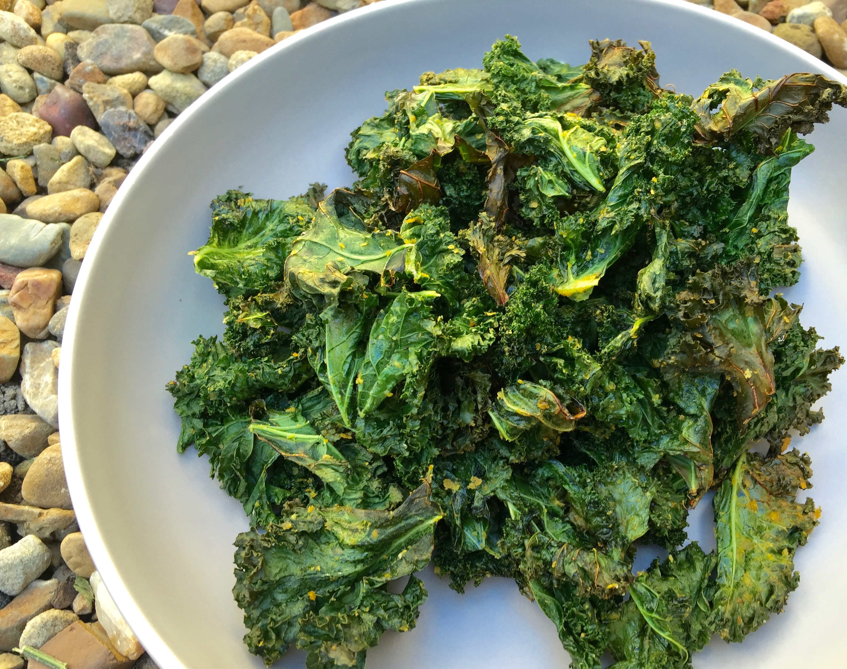 You NEED Our Crunchy Kale Chips